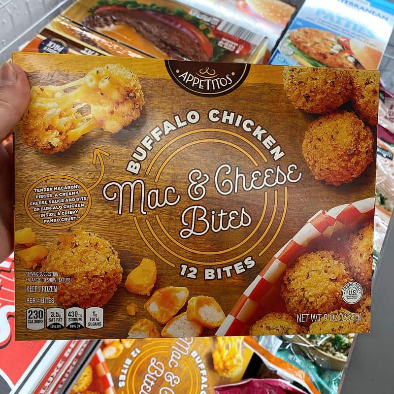 buffalo chicken mac and cheese bites