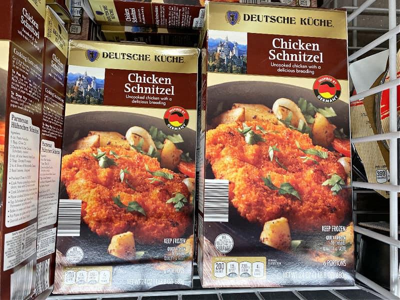 aldi chicken schnitzel