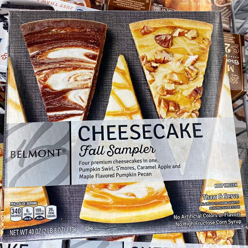 fall cheesecake sampler